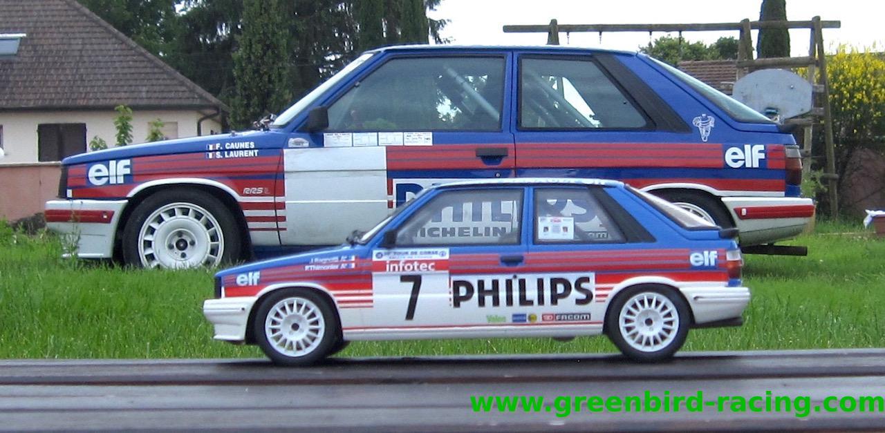 R11 turbo grA Ottomobile au 1/18° aux couleurs Philips à gagner