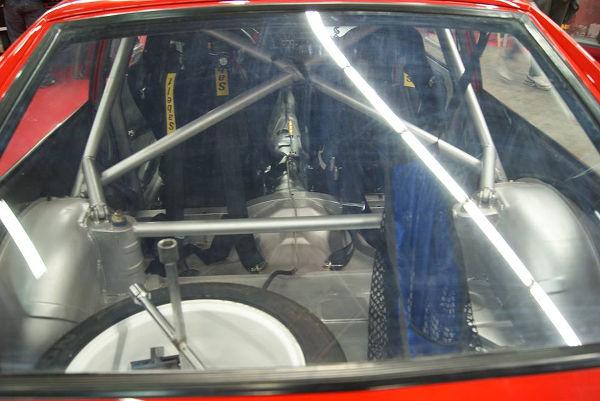 Intérieur Alfa GTV6 gr A