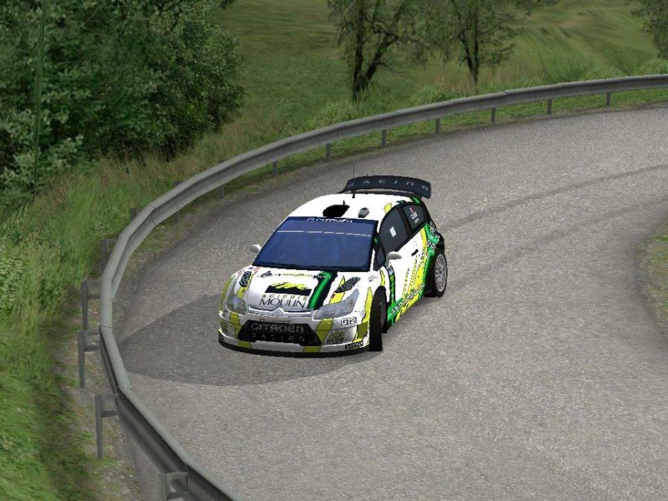 La C4 WRC de Jean Marie CUOQ réalisée par Guillaume