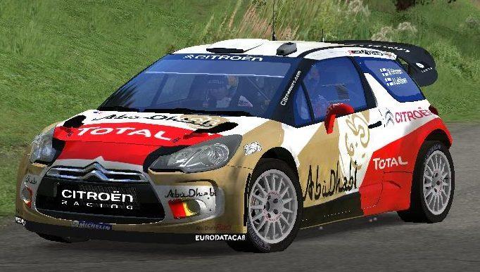 Pilotez la Citroën DS3 WRC de Sébastien LOEB