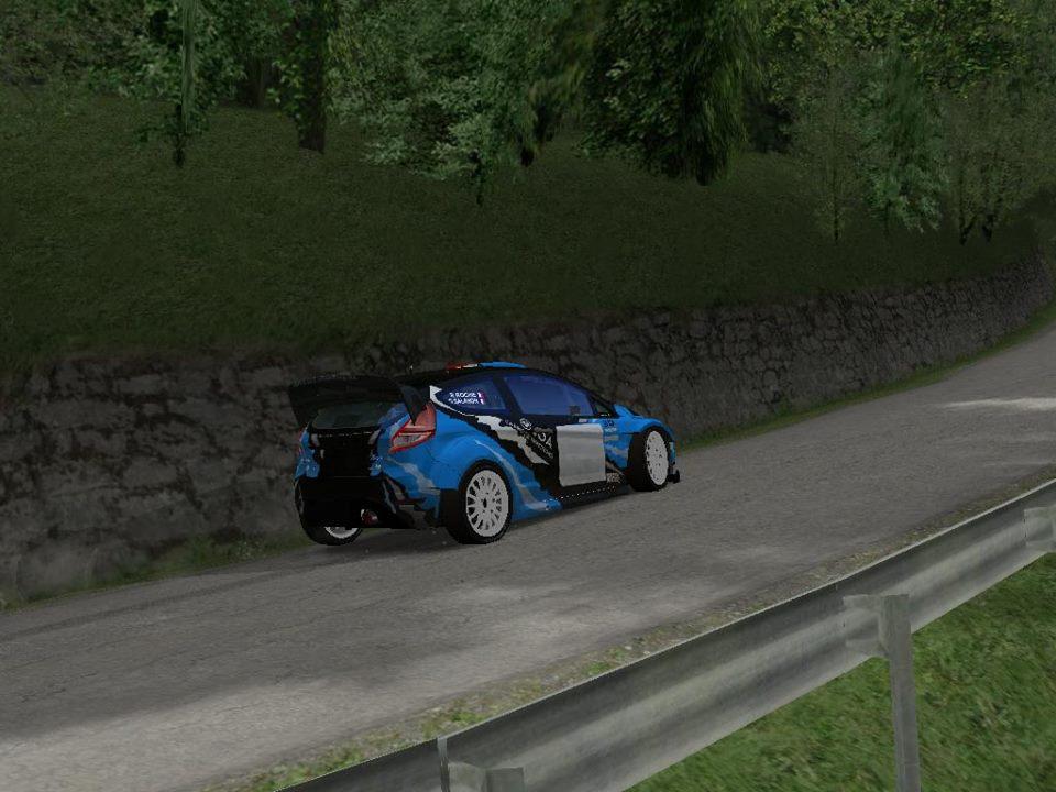 Pilotez la Ford Fiesta de David SALANON