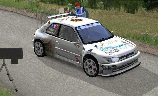 Une Peugeot 306 maxi, skin réalisé par Guillaume