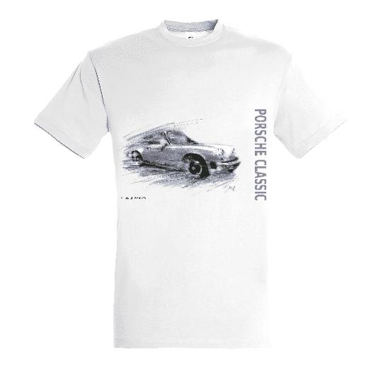 Tee shirt Porsche 911 classic type G grise