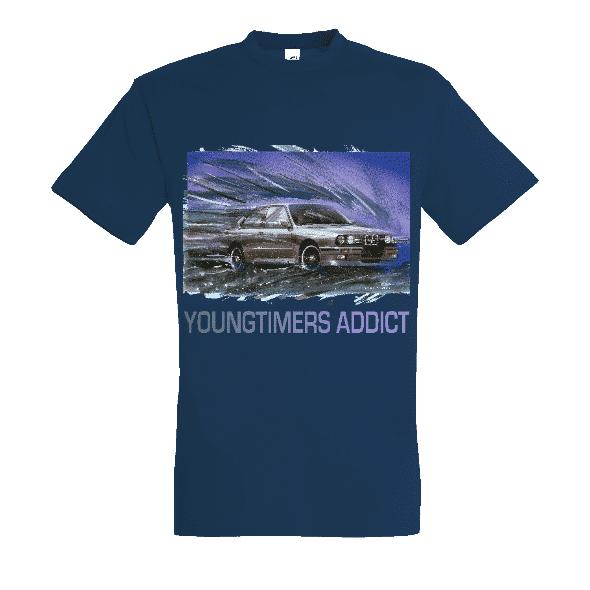 Tee shirt bleu denim M3 E30 YOUNGTIMERS ADDICT