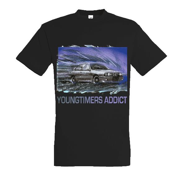 Tee shirt noir M3 E30 YOUNGTIMERS ADDICT