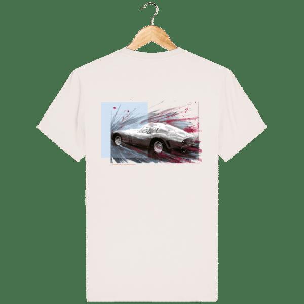 Tee Shirt Ferrari GTO vintage-white