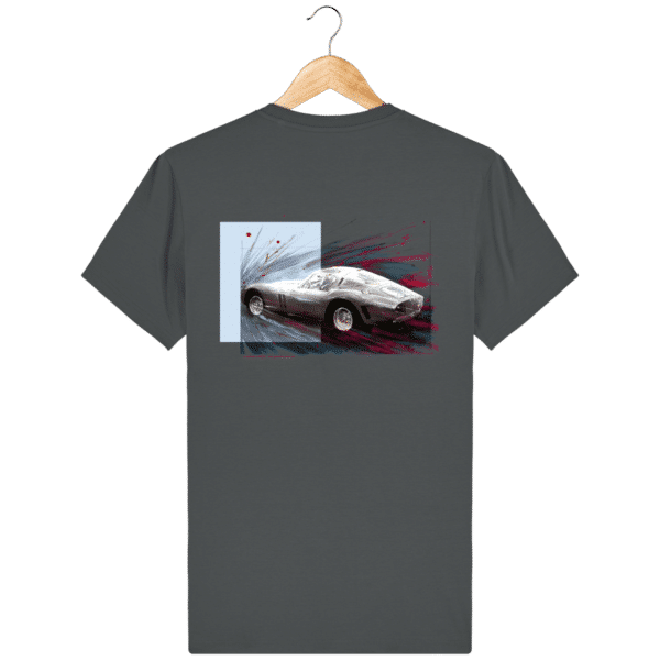 Tee Shirt Ferrari GTO anthracite