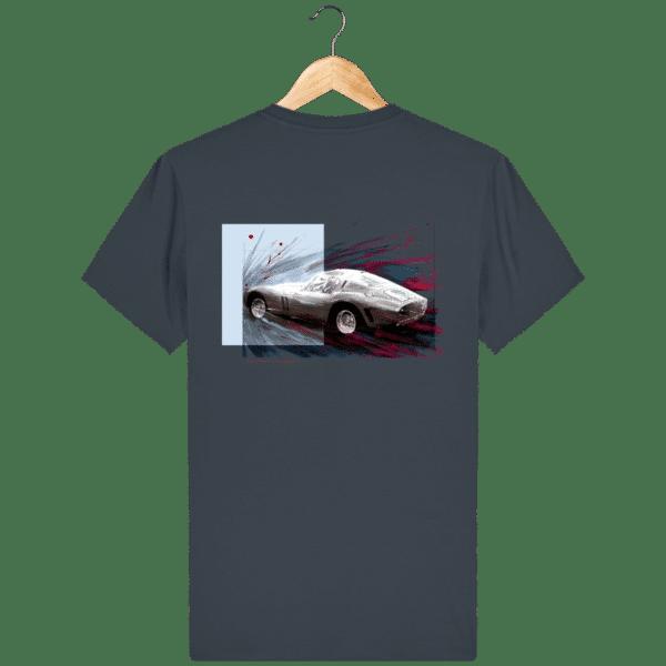Tee Shirt Ferrari GTO india-ink-grey