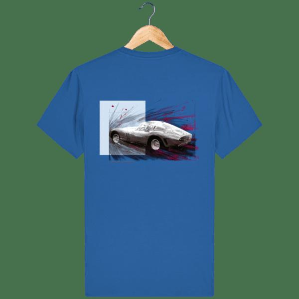 Tee Shirt Ferrari GTO royal-blue