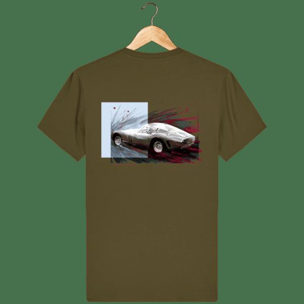 Tee Shirt Ferrari GTO british-khaki