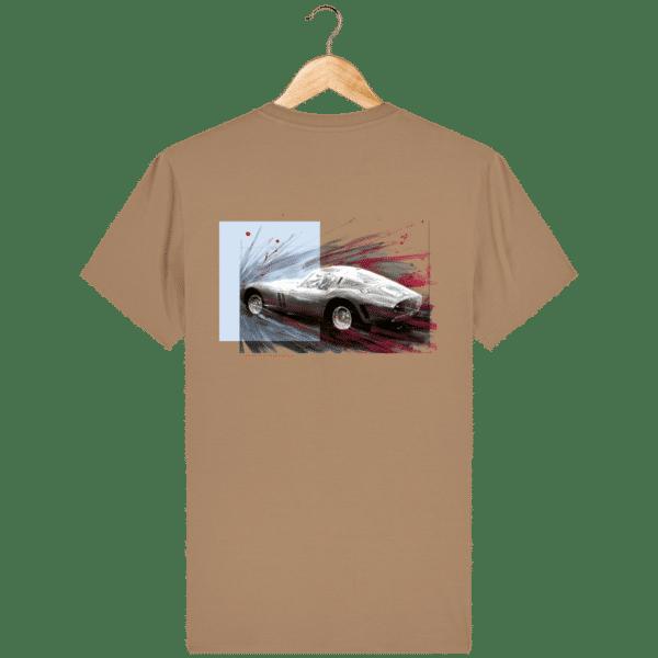 Tee Shirt Ferrari GTO camel