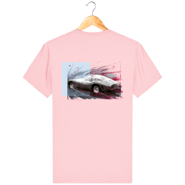 Tee Shirt Ferrari GTO cotton-pink