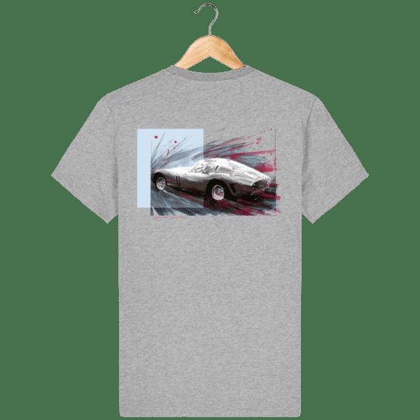 Tee Shirt Ferrari GTO gris