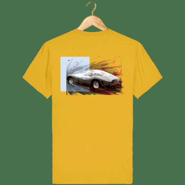 Tee Shirt Ferrari GTO jaune