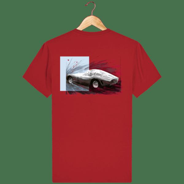Tee Shirt Ferrari GTO rouge
