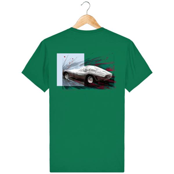 T-shirt Ferrari GTO coloris 2 - Varsity Green - Dos