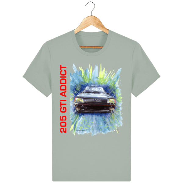 Tee Shirt 205 GTI fond opal