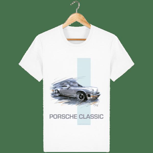 Tee shirt PORSCHE CLASSIC coloris 2 - White - Face