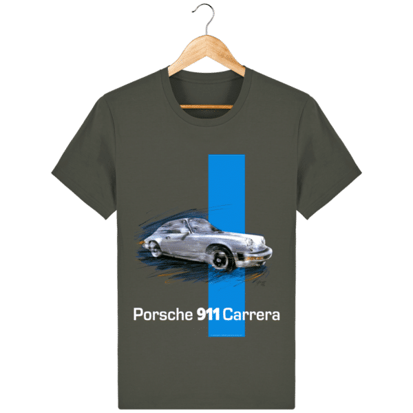 tee-shirt-carrera-porsche-911-coloris-1 - Khaki - Face