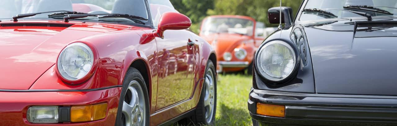 porsche 911 carrera type G et 964