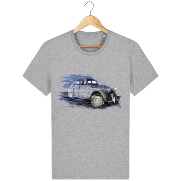 T-shirt 2CV Citröen - Heather Grey - Face