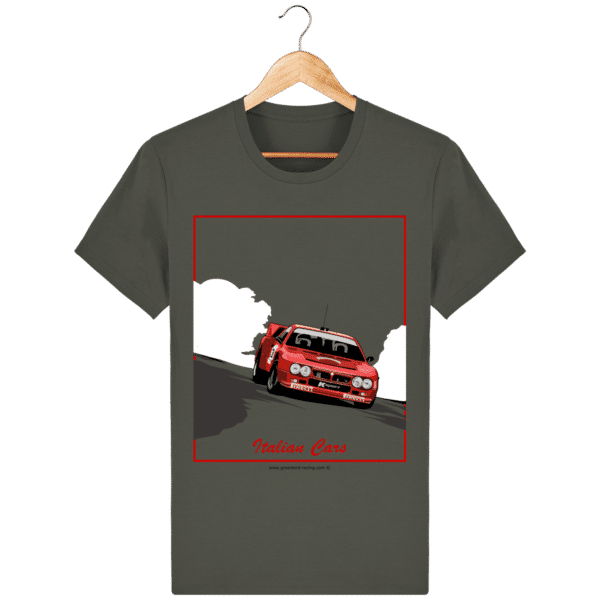 T-shirt Lancia 037 Italian Cars - khaki_face