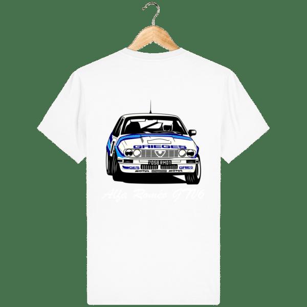 T-shirt Alfa Roméo GTV6 gr A Christian Rigollet dos
