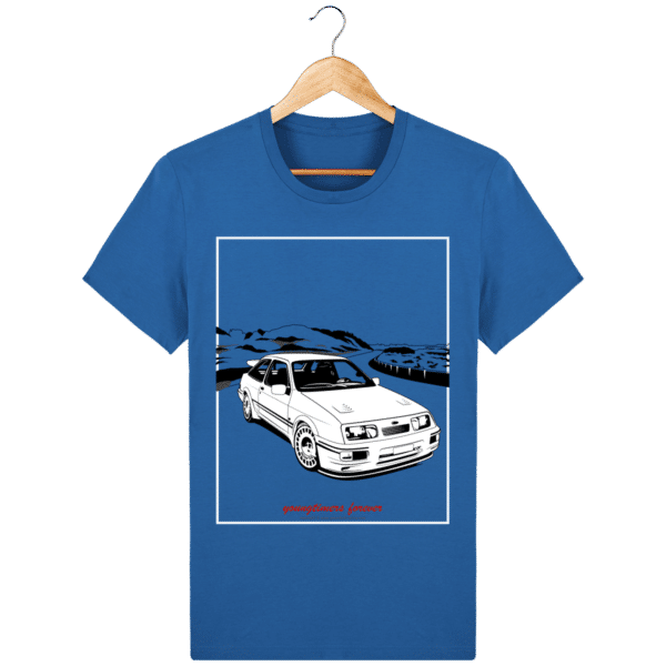 T-shirt Ford Sierra Cosworth 2rm – Youngtimers forever royal-blue_face