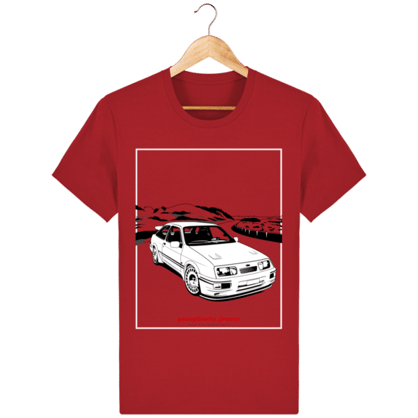T-shirt Ford Sierra Cosworth 2rm – Youngtimers forever red_face