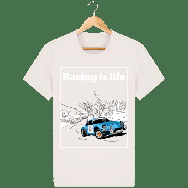 T-shirt Alpine A110 1860 usine vintage - Racing is Life vintage-white_face