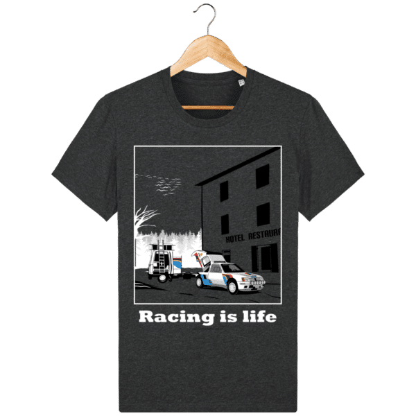T-shirt 205 Turbo 16 assistance en essais dark-heather-grey_face