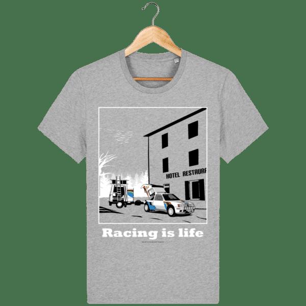 T-shirt 205 Turbo 16 assistance en essais heather-grey_face