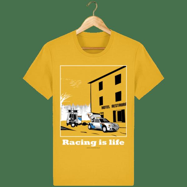 T-shirt 205 Turbo 16 assistance en essais spectra-yellow_face