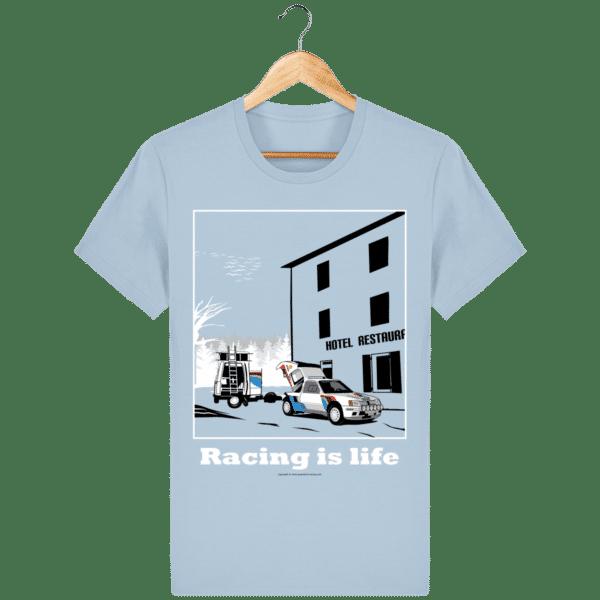 T-shirt 205 Turbo 16 assistance en essais sky-blue_face