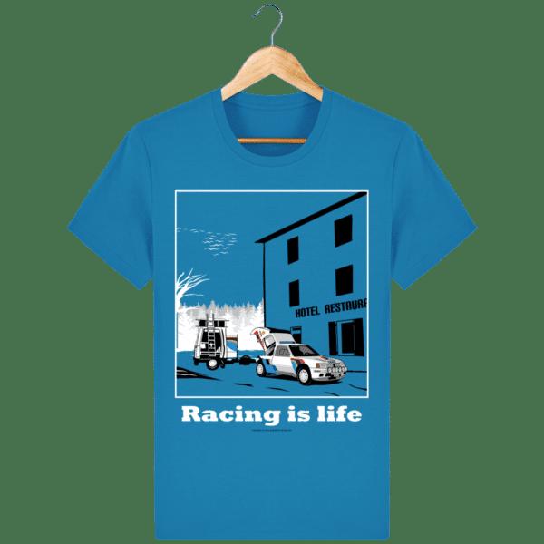 T-shirt 205 Turbo 16 assistance en essais azur_face