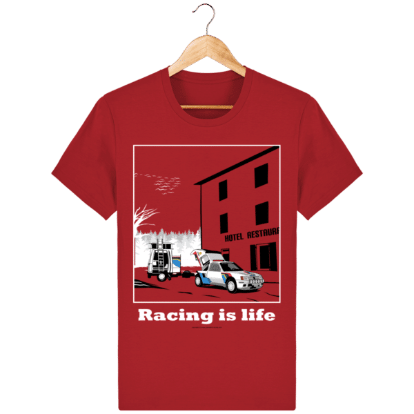 T-shirt 205 Turbo 16 assistance en essais red_face