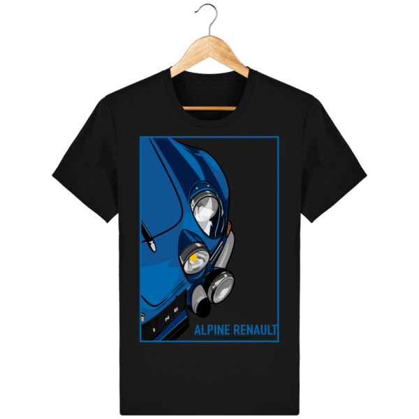 T-shirt Alpine A110 Vintage - Black - Face