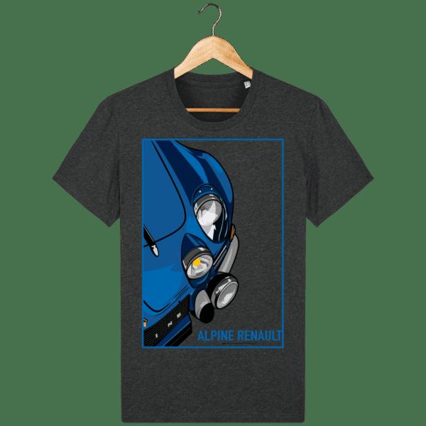 T-shirt Alpine A110 Vintage - Dark Heather Grey - Face