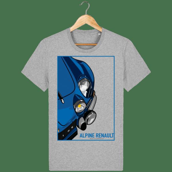 T-shirt Alpine A110 Vintage - Heather Grey - Face