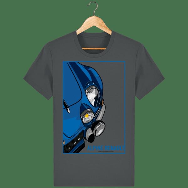 T-shirt Alpine A110 Vintage - Anthracite - Face