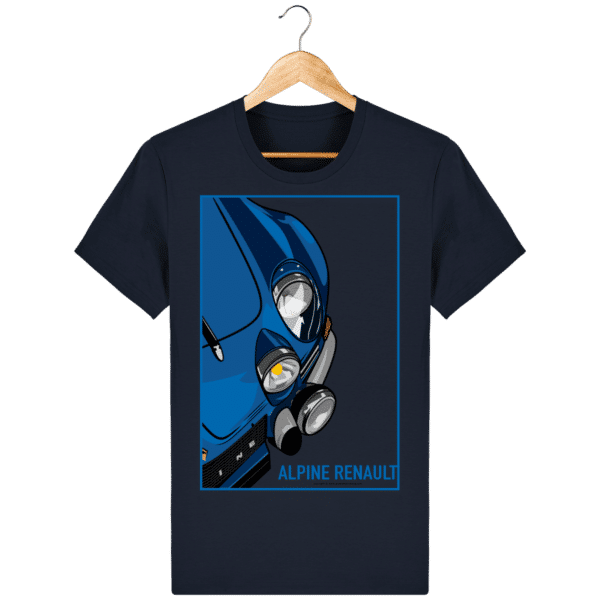 T-shirt Alpine A110 Vintage - French Navy - Face