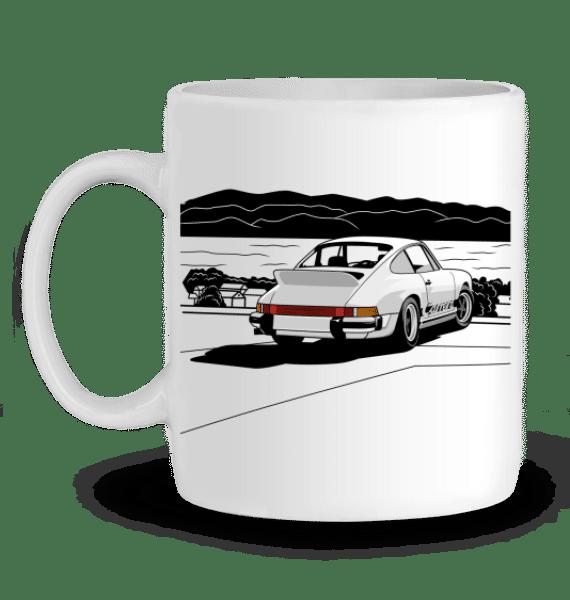 Mug Porsche 911 2,7 RS blanche - BLANC - Profil gauche