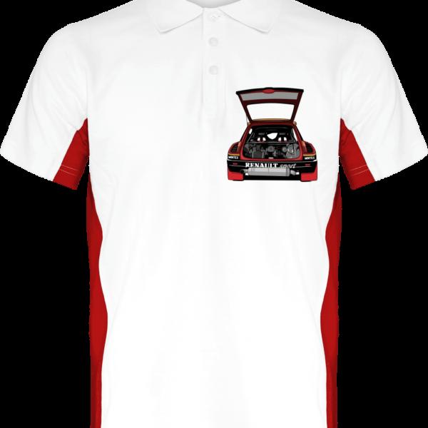 Polo R5 turbo Tour de Corse - White / Red - Face