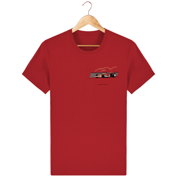 T-shirt Formule 1 1970 Lotus 72 Jochen Rindt Light is right - Red - Face