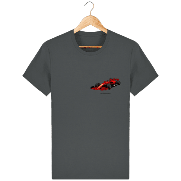 T-shirt dessin Formule 1 2020 SF1000 Charles Leclerc - Anthracite - Face