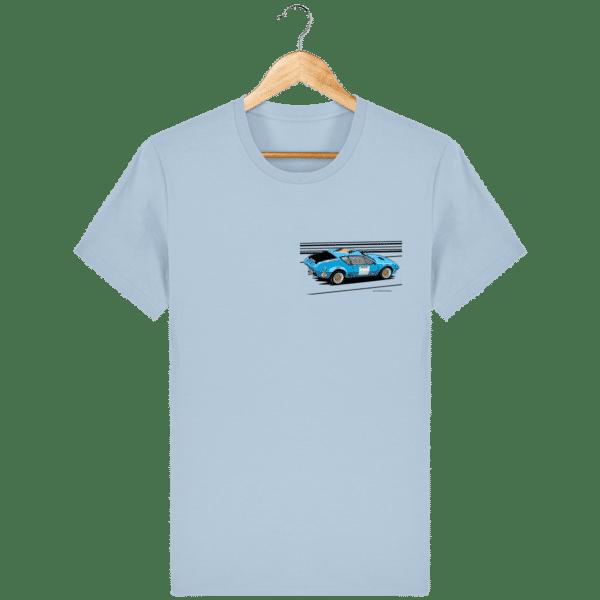 T-shirt Alpine A310 groupe 4 rallye VHC bleue - Sky blue - Face
