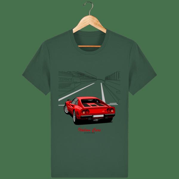 T-shirt Ferrari 288 GTO 1984 - Bottle Green - Face