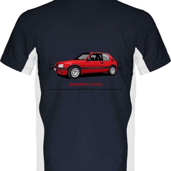 Polo 205 GTI 1,9 youngtimers - Navy / White - Dos
