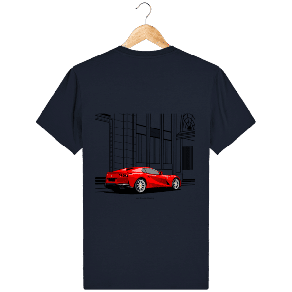 T-shirt Ferrari 812 GTS - French Navy - Dos