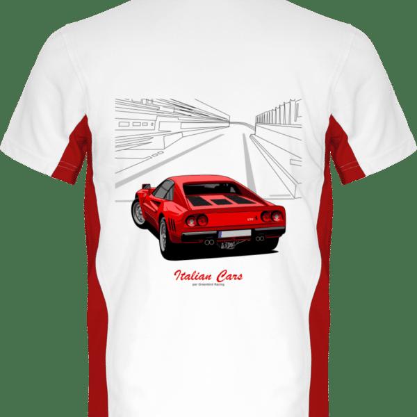 Polo Ferrari 28 GTO 1984 - White / Red - Dos